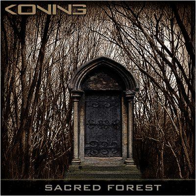 CD HOES - SACRED FOREST - VOORKANT